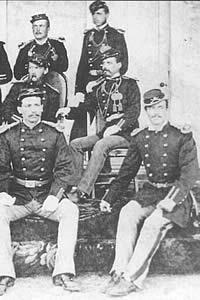 Second lieutenants at Fort Clark