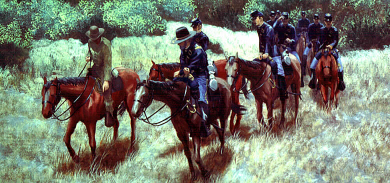 Tracking the enemy on the frontier in reality texas forts were too