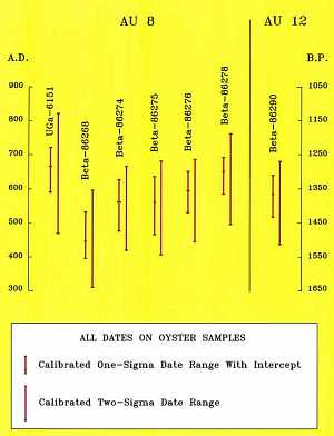 Radiocarbon dating analysis