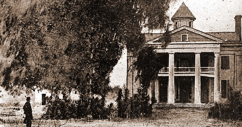 Lack Jackson Plantation main house