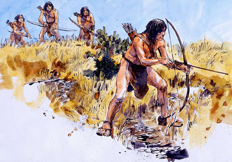 Apache Indian Hunting