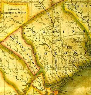 Map Of Texas Showing Austin.Ransom Williams